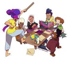 High Five, Cartoon Crossovers, Cartoon Characters, Cartoon Shows, Cartoon Art, Character Art, Character Design, Anime Furry, Fanart