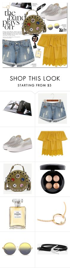 """""""Shein"""" by oshint ❤ liked on Polyvore featuring Madewell, MAC Cosmetics, Chanel, Matthew Williamson, McQ by Alexander McQueen, Summer, awesome, amazing, Sheinside and shein"""