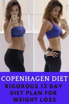 Copenhagen Diet : Rigorous 13 Day Diet Plan For Weight Loss and Detox 13 Day Diet Plan, Paleo Diet Plan, Weight Loss Diet Plan, Fast Weight Loss, How To Lose Weight Fast, Slim Down Fast, How To Slim Down, Dieta Flexible, Copenhagen Diet