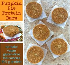 [Post #88 for 100 days of Vegan, Gluten-Free, Portable Power Pucks] My running partner, Wendy, asked me the other week what I love making with pumpkin. We had been chatting about our Thanksgiving plans, which, of course, led to food,…