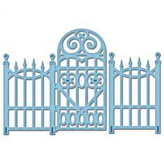 Spellbinders Shapeabilities Die D-Lites - Garden Gate