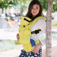 Lillebaby Embossed Complete Carrier Citrus - Sequoia's Closet #babywearing #wearallthebabies #lille #lillebaby #citrus #parenting #embossed