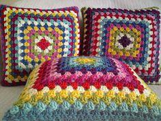 crochet cushion - Google Search