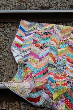 Chevron Quilt by Bluprint Textiles
