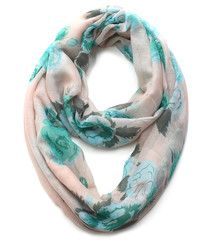 Cozy by LuLu - Spring Floral Infinity Scarf