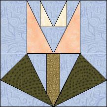 Block of Day for September 13, 2015 - Double Tulip