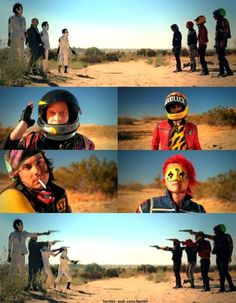 Black Parade to Danger Days ~ The True Lives of the Fabulous Killjoys.. | Apanache