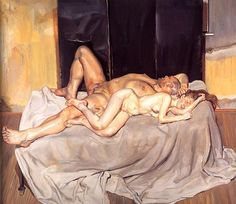 Lucien Freud And the Bridegroom. 2001