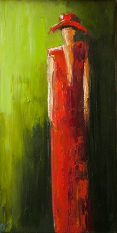 """Red Dress"" by Shelby McQuilkin: Buy prints, posters, canvas and framed wall art directly from thousands of independent working artists at Imagekind.com."