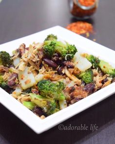 Stir Fried Chicken With Vegetables