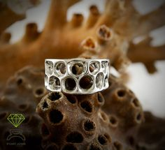 Big Coral Bone, alliance de Dcastjoyas en Etsy