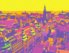 """Check out new work on my @Behance portfolio: """"City"""" http://be.net/gallery/45167829/City"""