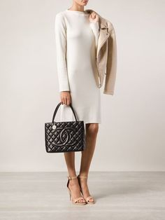 tote bag second collection chanel fifth hand the medallion products