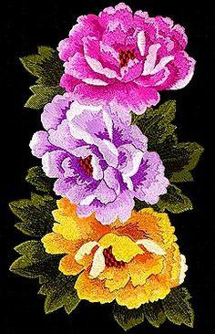 Machine Embroidery Design 'Chrysanthemum'