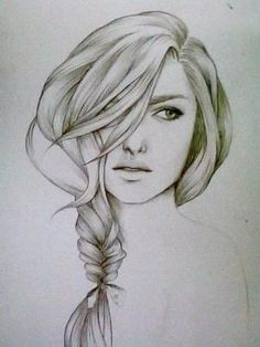 drawing hair is so hard.. by bessie