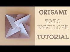 Passo a passo Envelope Catavento Origami - YouTube