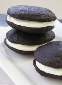 Chocolate Mint Whoopie Pies for St. Patrick's Day | Family Kitchen