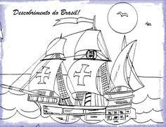 DESCOBRIMENTO++BRASIL+ATIVIDADES+EXERCICIOS++DESENHOS+COLORIR+(50).jpg (400×307)