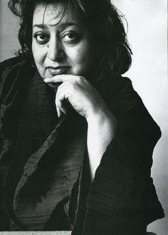 Zaha Hadid, New York, 1995 (Irving Penn)