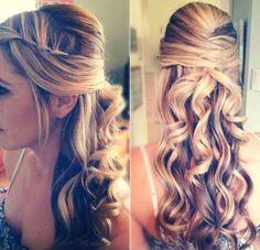 penteados semi presos - Pesquisa Google