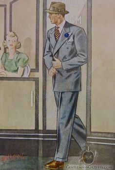 Laurence Fellows Man 1941
