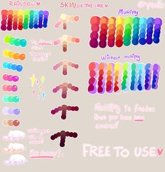 Tutorial + FREE to use Palette by Yamio on @DeviantArt