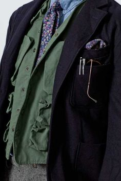 Layering with Engineered Garments