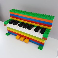 "83 Likes, 9 Comments - Still Mummy From The Block (@mummyfromtheblock) on Instagram: ""A really simple build but Munchkin loved having a mini piano . . . #lego #legoduplo #duplo #kids…"""