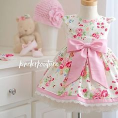 Pretty Princess Girl Floral Handmade Boutique by KinderKouture