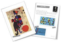 30 fiches artistes par Bout de Gomme Joan Miro, Art History Memes, Piet Mondrian, Ecole Art, Special Kids, Art Plastique, Teaching Art, Art Therapy, Famous Artists