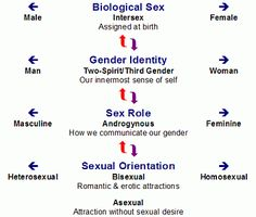 sexuality vs gender