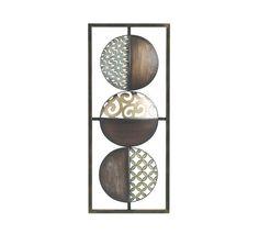 Wanddeko in orientalisch-afrikanischen Design aus Metall Spirit Of Summer, Decorative Plates, Ceiling Lights, Home Decor, African Design, Ad Home, Metal, Decoration Home, Room Decor