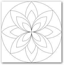 Image result for como dibujar mandalas faciles