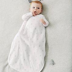 Unisex Snowy Velour Sleeping Bag 2.5 Tog | The Little White Company #whitechristmaswishlist