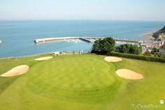Omaha Beach Golf Club, Calvados, Normandie, France. Vidéo aérienne sur FlyOverGreen / Aerial video on FlyOverGreen