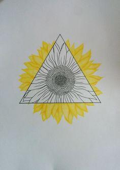 Sunflower triangle