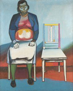 Andrzej Wróblewski - Ukrzesłowienie/ Waiting Room II (Chairing I), 1956 Social Realism, Found Art, Unusual Art, Surreal Art, Art And Illustration, Illustrations, Painting Techniques, Painting & Drawing, Arsenal