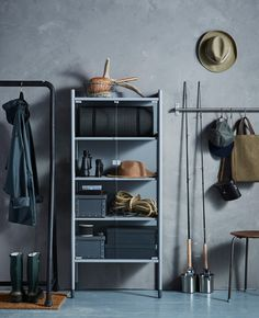 The IKEA SAMLA boxes are ideal for storing a lot of items without