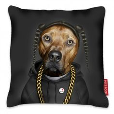 Takkoda Snoop Cushion from Takkoda | Made By Takkoda | £40.00 | BOUF