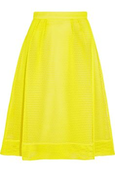crew Catalina Mesh Skirt In Yellow Blue Color Combinations, J Crew Skirt, Mesh Skirt, Summer Skirts, Classy And Fabulous, Chic Outfits, Skirt Outfits, A Line Skirts, My Style