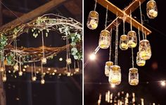 Ways to Use Candles at Your Wedding hanging decor, lighting up the night, and other ways to decorate with candles at your reception!hanging decor, lighting up the night, and other ways to decorate with candles at your reception! Wedding Songs, Diy Wedding, Wedding Events, Wedding Flowers, Weddings, Hanging Wedding Decorations, Wedding Reception Lighting, Light Up, Wedding Planning