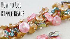 How to Use Ripple Beads: DIY Jewelry Bracelet  ~ Seed Bead Tutorials