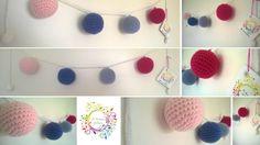Guirnaldas Pelotitas Crochet - Adornos - Casa - 497935