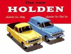 FE Holden Station Van and Ute
