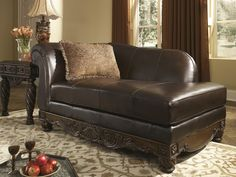 Get Your North S Dark Brown Laf Corner Chaise At Furniture Factory Outlet Warsaw In