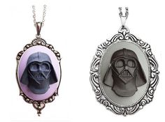 Dress Up Your Outfit With Darth Vader Cameo Necklaces