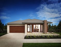 Seville 28 Facade by Boutique Homes New Home Designs, Cool House Designs, Facade House, House Facades, Boutique Homes, Good House, Open Plan, Home And Living, Gazebo