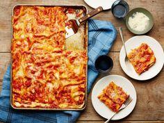 http://www.foodnetwork.com/recipes/food-network-kitchen/all-crust-sheet-pan-lasagna-3543491