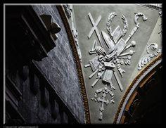 Stucco in a church by Giancarlo Gallo