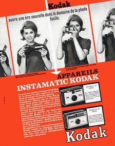 Publicité Kodak 1963 Facile... donc pour femme